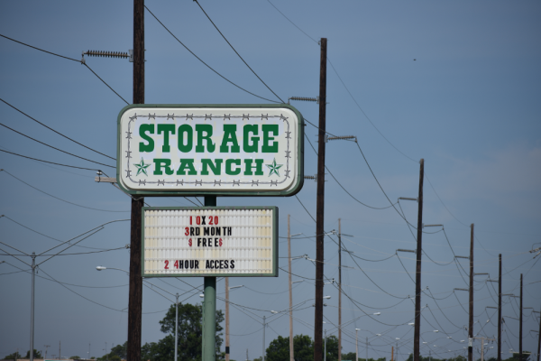Image of the sign for this Storage Ranch facility